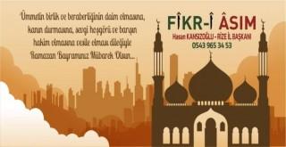 Başkan Hasan Kansızoğlu Ramazan Bayramı Mesaji